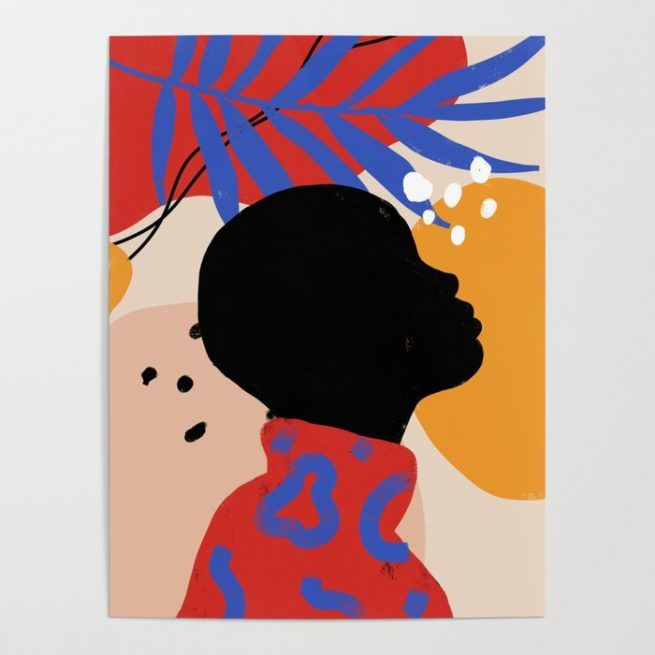 Cuttoo - woman nature portrait posters